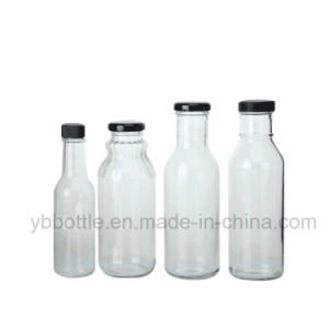 Chili Sauce/Beverage /Vinegar Bottle with a Lug Lid pictures & photos