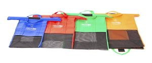 Custom Fabric Promotion Non-Woven Folding Supermarket Trolley Shopping Bag pictures & photos