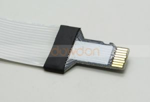 Micro SD / TF to SD Card Extension Cable Adapter Flexible Extender for GPS TV Mobilphone pictures & photos