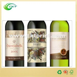 Paper Wine Label in Self Adhesive (CKT-LA-367) pictures & photos