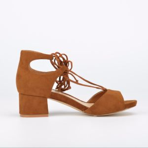 2017 Casual Lady Hollow-out Lace-up Chunky Heels Women Sandals (CIF) pictures & photos