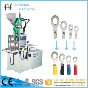 Vertical Plastic Injection Mouding Machine for Making Terminals pictures & photos