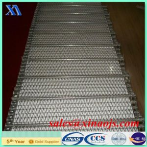 Ss 304 316 316L Stainless Steel Heat Resistant Conveyor Belt for Bread pictures & photos