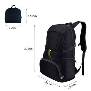 35L Lightweight Packable Water Resistant Rucksack Travel Hiking Backpack pictures & photos