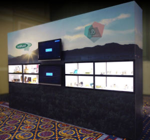 Custom Trade Show Exhibition Booth Portable Modular Banner Display Back Wall pictures & photos
