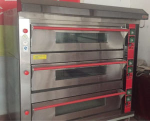 Gas 3 Deck 12 Tray Deck Oven Bakery Equipment Best Offer pictures & photos