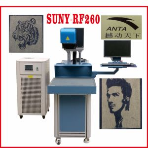 CO2 Radio Frequency Laser Marking Machine for Denim and Fabric and Nonmetals pictures & photos
