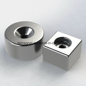Powerful Neodymium Magnet Countersunk Rare Earth Magnet pictures & photos