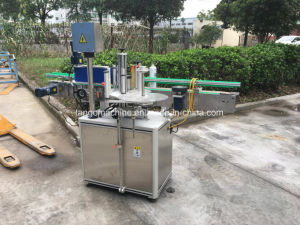 Automatic Glass Beer Bottle Three Side Four Side One Label Two Label Three Label Bottle Glass Bottle One Side 2side Adhesive Sticking Labeling Machine pictures & photos