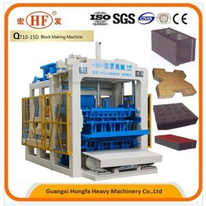 Full Automatic Concrete Block Making Machine Manufacturer pictures & photos