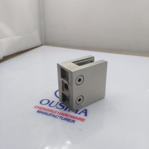 Thickening Square Stainless Steel Handrail Clamp pictures & photos
