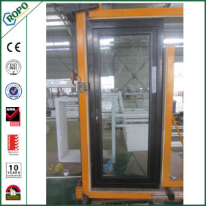Chinese Aluminum Front Exterior French Door Double Glazed pictures & photos