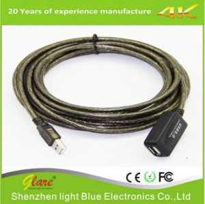USB Active 2.0 Extension Cable W/ Booster Repeater Extender 30 Meters pictures & photos