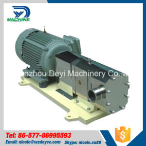 Zb3a-36 4kw Ss316L Rotary Lobe Pump for Salad Dressing pictures & photos