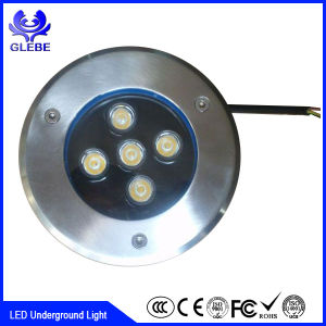 IP67 9W Round Inground Uplight DMX RGB LED Underground Light pictures & photos