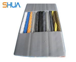 PVC Flat Industrial Cable (H05VVH6-F/H07VVH6-F) pictures & photos