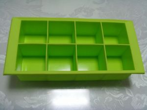 Food Safe Silicone Ice Cube Tray pictures & photos