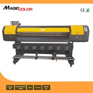 1.6m Cheap Cost Eco Solvent Printer with Epson R9 pictures & photos