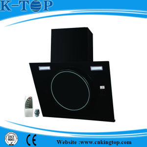 Remote Control Range Hood with Glass Panel pictures & photos