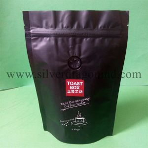Stand up Coffee Bag with Zipper and Valve (250 gram) pictures & photos