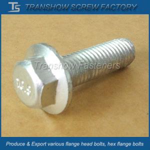 ANSI or DIN Standard Hex Flange Bolt (M6X16) pictures & photos