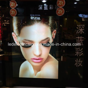 Picture Frame for Cosmetics Display with LED Signboard pictures & photos