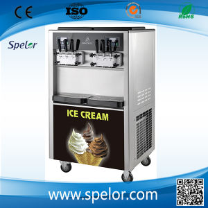 Large Soft Ice Cream Machine with Many Flavors/Bql-650 pictures & photos