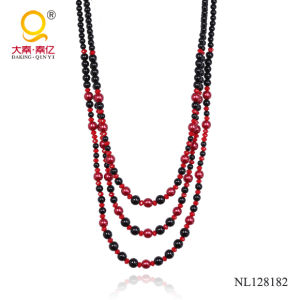 3 Rows Fashion Costume Necklace for Women pictures & photos