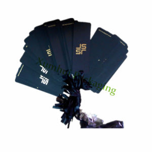 Black Paper Hangtags /Clothes Paper Tags