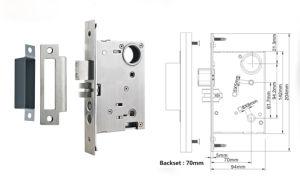 Classic Solid Brass Hotel Lock Room Door Lock pictures & photos