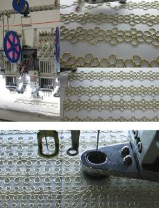 Flat Embroider Machine Device pictures & photos