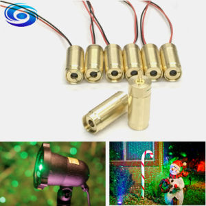 High Quality Green 532nm 30MW DOT Line Cross Laser Module pictures & photos