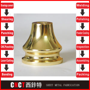 Sheet Metal Copper Plating Surface Treatment pictures & photos