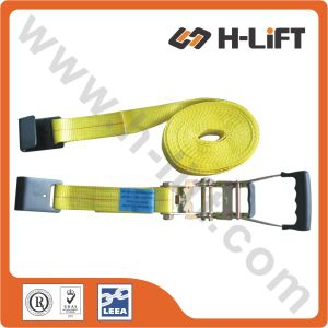 Ratchet Strap with Flat Hook 2′′ 10000lbs pictures & photos