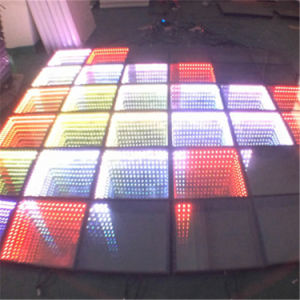 Newest Hot Selling 3D Mirrow Interactive Disco Bar Satge Light LED Dance Floor pictures & photos