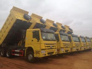 HOWO 6X4 Tipper Truck Sales (ZZ3257N3247B) pictures & photos