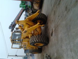 Used Caterpillar Wheel Loader 966e Sold to Belgium pictures & photos