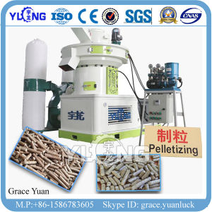 1-1.5t/H Rice Husk Pellet Mill Machine pictures & photos
