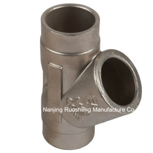 304 Stainless Steel Casting and Machining Connector for Valves