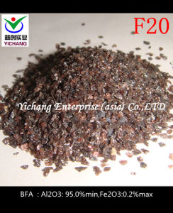 Brown Aluminum Oxide #20 for Sandblasting pictures & photos