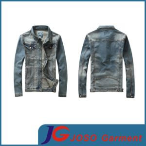 Military Style Jean Coat for Men (JC7026) pictures & photos