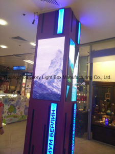 P3.33 Full Color Clothes Window Showing LED Screen Board pictures & photos