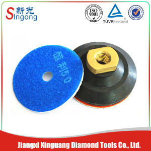 Diamond Floor Resin Polishing Pads for Concrete pictures & photos