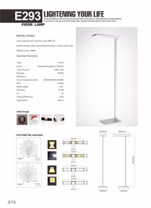 Uispair Modern Office LED Floor Lamp pictures & photos