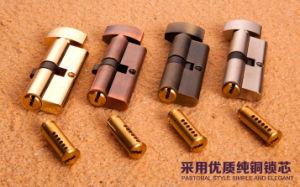 Brass Cylinder Lock, Interior Door Cylinder Lock (AL-1106) pictures & photos