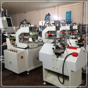 UPVC Machinery Glazing Bead Saw Cutting Window Machine with 1 Time 2PCS Cutting pictures & photos