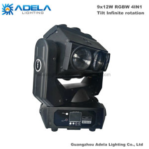 9X12W Infinite Phantom Beam Light LED Moving Head Spotlight pictures & photos