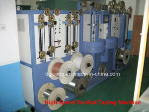 High Speed Nc Vertical Cable Taping Machine pictures & photos
