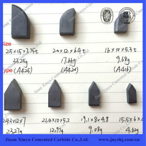 Yg6 Widely Used Tungsten Carbide Cutting Teeth for Lathe pictures & photos