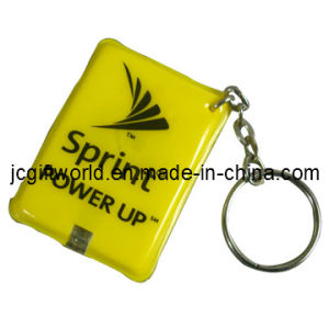 LED Keychain/PVC Key Chain with LED (JC224K)